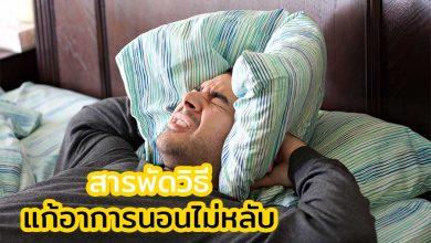 Photo of สารพัดวิธี แก้อาการนอนไม่หลับ ตื่นกลางดึก อย่างได้ผล